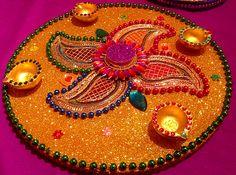 Mehndi Plates Uk : My signature multi coloured mehndi plate set see facebook page