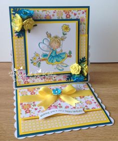 LOTV - May Fairy with One Birdie Lane Paper Pad by Kelly Lloyd