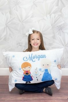 Full Size Personalized Minky Pillow Covers {Jane Deals}