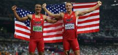 """U.S. Pairs Send One-Two Punch with Gold, Silver in the decathlon!  Heading into the final two events of the competition, Eaton had a commanding lead over the field.We wished each other luck, but more than anything, we nodded at one another,"""" Hardee said. """"It was an understanding that we represented the United States for a chance to go 1-2, that's what we set out to do. That was the exclamation point on the mission."""""""
