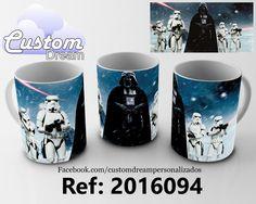Caneca Darth Vader Por R$35,00