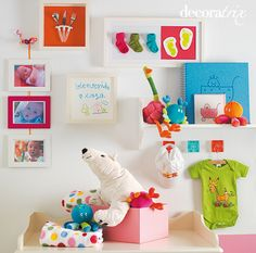 Cuadros para la habitación del bebé