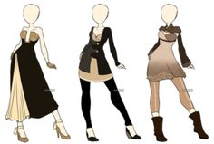 Fashion Adoptables - CLOSED by Karijn-s-Basement
