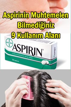 The benefits of aspirin: Dandruff treatment, callus treatment, insect bites, acne and many more bene Natural Health Remedies, Herbal Remedies, Life Hacks Youtube, Back Fat Workout, Hair Dandruff, Cute Hairstyles For Short Hair, Natural Medicine, Body Care, Health Tips