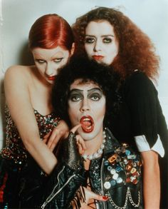 The Rocky Horror Picture Show - best to go to a live show with stuff to throw, especially if it's Halloween