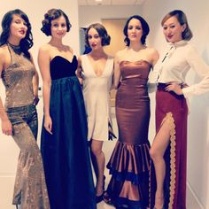 Beautiful models in GOCA for the One Hope United Event yesterday! ;) 1920's!