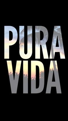 This is the main saying of Costa Rica. Pura Vida means pure life and the ticos or people of Costa Rica live their lives this way. It means they can be more lenient at times and have a chill and happy vibe. Voyage Costa Rica, Costa Rica Travel, Wild Life, Fortuna Costa Rica, Paradis Tropical, Cost Rica, Life Quotes Love, Yoga Retreat, Central America