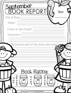1st Grade Fantabulous: September                                                                                                                                                                                 More