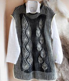 Жилет бриошь #knitstagram#briocheknitting#briochestitch#knitting#вязаниебриошь#вязаныйжилет#knittedvest#knitting