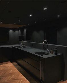 Loft Interior, Black Interior Design, Dream House Interior, Luxury Homes Dream Houses, Dream Home Design, Modern House Design, Luxury Interior, Interior Design Inspiration, Interior Designing