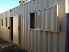 Shipping container storage is infinitely easier with built in