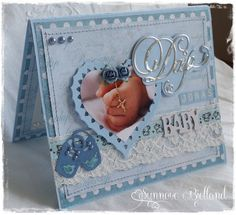 Babycard for christening made by me :)