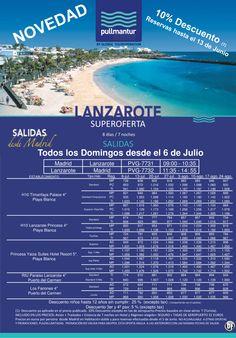 10% Reserva anticipada Lanzarote 1 Verano 2014 ultimo minuto - http://zocotours.com/10-reserva-anticipada-lanzarote-1-verano-2014-ultimo-minuto/