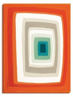 """David Bromstad's """"Retro"""" art will add an expressive pop of color to the wall of any room."""