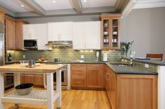 maple-shaker-cabinets-Kitchen-Contemporary-with-Natural-Maple ...