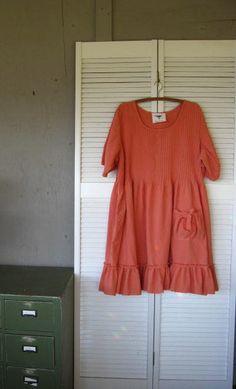 Eco upcycled clothing Bohemain plus size by lillienoradrygoods, $77.50