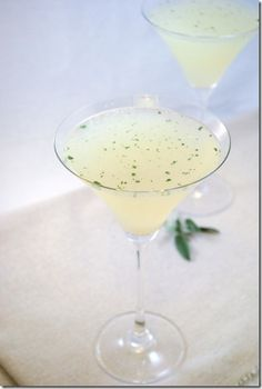 Sage Drop Martini...Must try from @leftoversforlunch