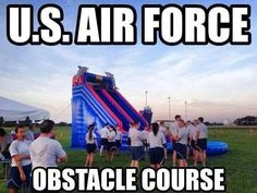 Air Force Obstacle Course