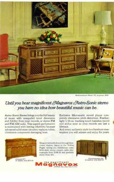 1966 Stereo Console