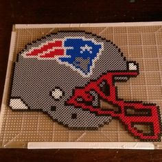 New England Patriots perler beads by shadyman08