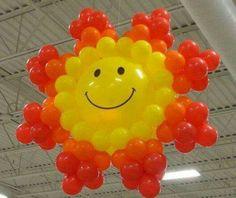 Balloon Sun!  Looks harder than it is.  ;)