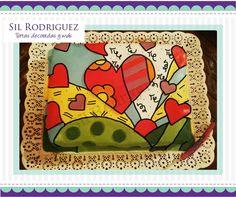Torta Britto - Sil Rodriguez Tortas Decoradas