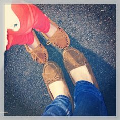 Mommy & me matching mocs!