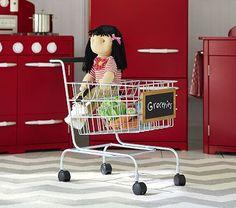 Metal Shopping Cart #pbkids-purchased mandd