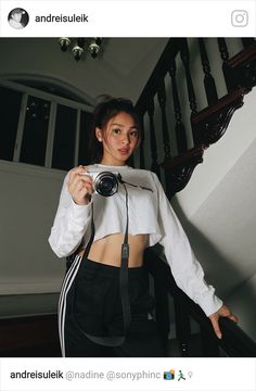 Image may contain: 1 person Nadine Lustre Ootd, Nadine Lustre Instagram, Nadine Lustre Fashion, Nadine Lustre Outfits, Fashion Outfits, Fashion Ideas, Baguio Outfit, Lady Luster, Philippines