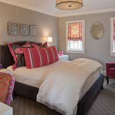 Spaces Pink And Grey Accessories Design, Pictures, Remodel, Decor and Ideas - page 8