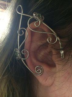 Elven arwen renaissance fairy faerie Cosplay ear cuffs on Etsy, $13.00