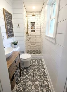Bathroom decor for your master bathroom renovation. Learn bathroom organization, master bathroom decor ideas, master bathroom tile some ideas, bathroom paint colors, and more. Bathroom Renos, White Bathroom, Bathroom Renovations, Modern Bathroom, Bathroom Cabinets, Dyi Bathroom, Simple Bathroom, Remodel Bathroom, Bathroom Mirrors