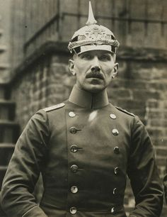 Hauptmann Franz von Papen, former German military attache at Washington, who was persona non grata to the U.S. on account of his unfriendly activities. He was recalled December 1915.