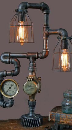 Products Steampunk Lighting