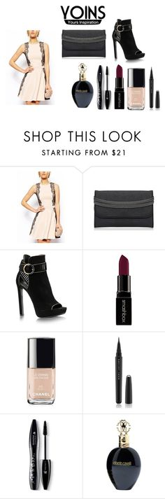 """yoins contest"" by almaaa789 ❤ liked on Polyvore featuring Smashbox, Chanel, Marc Jacobs, Lancôme, Roberto Cavalli, women's clothing, women, female, woman and misses"