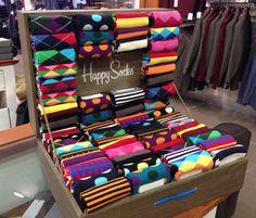 Men's Happy Socks in Bright Multi Patterns @ Coes