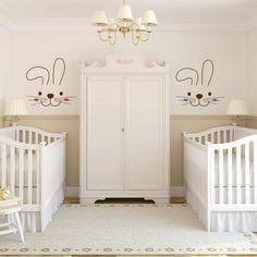 Simple Babyzimmer Gestaltung im Landhausstil