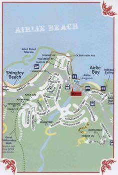 airlie beach australia map
