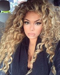 87 unique ombre hair color ideas to rock in 2018 - Hairstyles Trends Ombre Hair, Blonde Hair, Wavy Hair, Curly Hair Styles, Natural Hair Styles, Corte Y Color, Pinterest Hair, Great Hair, Big Hair