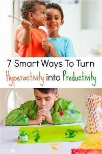 7 Smart Ways To Turn Hyperactivity into Productivity | eBay
