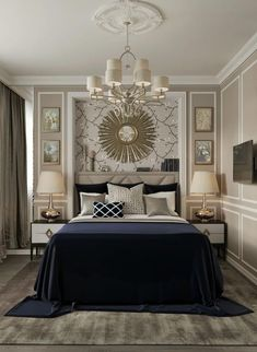 14 Best Blue and gold bedroom images | Gold bedroom, Blue ...