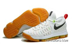 56fbcc92d9ee0 Nike Kd 9 Ix Yellow White Black Red TopDeals