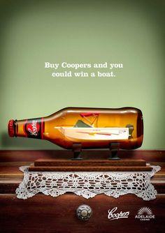 La marca de cerveza Coopers, lanza una super convocatoria de toneladas de litros de consumo para ganar un bote al mas fanatico.