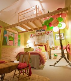 Indoor tree house for kids room--unique