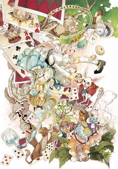 Alice in Wonderland Dear Alice, Alice Madness Returns, Princess Alice, Adventures In Wonderland, Lewis Carroll, Through The Looking Glass, Disney Fan Art, Cute Art, Colors