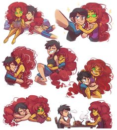 A fan blog dedicated to the love between Robin and Starfire, in all their various wonderful...