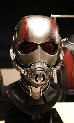 An Up Close Look At The Ant-Man Costume