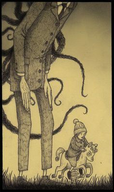 John Kenn Mortensen- it reminds me of slenderman :'(