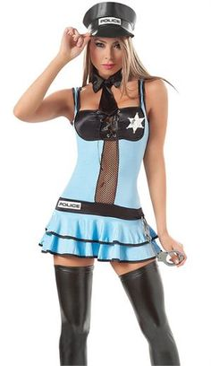 Sexy Halloween Costume, Cop Costume now in clearance! Shop for your Police Girl or Cop Costume early at Teezers Costumes! Sexy Costumes For Women, Sexy Halloween Costumes, Girl Costumes, Adult Costumes, Costume Ideas, Womens Clothing Stores, Online Clothing Stores, Clothes For Women, Police Officer Fancy Dress