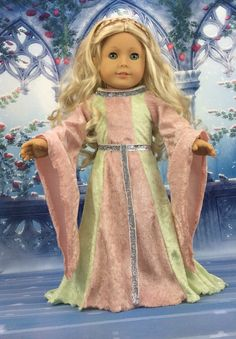 18 Zoll Puppe Kleid Kap und Schuhe von HoschPoschCreations auf Etsy